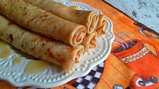 Пълнозърнести палачинки - рецепта