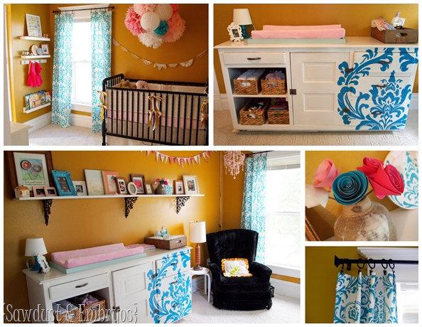 Nursery Closet Organizational Ideas