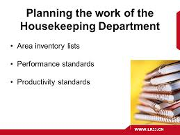 problems in housekeeping department Trends in the housekeeping department 21 keeping up with the changes running a successful housekeeping department is not an they need to make sure that loss or theft is minimized other problems in hotels is maintaining these linen sheets due to the use of chemicals.