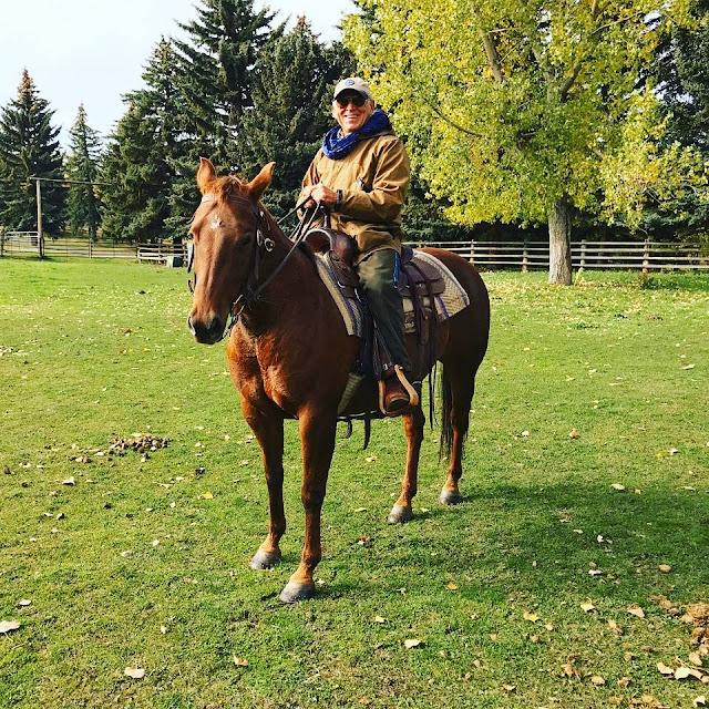 Jimmy Buffett On Horse