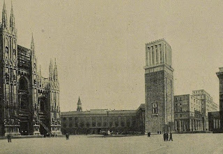 duomo torre campanile milano