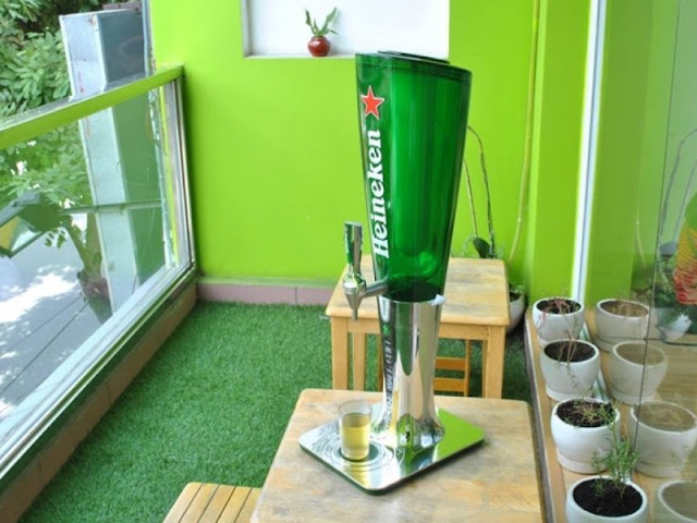 Tháp bia Heineken Led