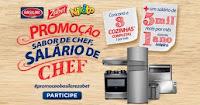 Promoção Sabor de Chef, Salário de Chef: Basilar, Zabet e Nikito promobasilarezabet.com.br