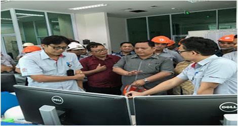 Komisi III DPRD  Kota Padang Tinjau AMDAL PT Semen Padang.