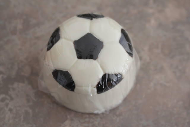 Soccer Ball Chocolate Candy Box Favor & Free Printable
