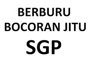 Berburu Bocoran Jitu SGP
