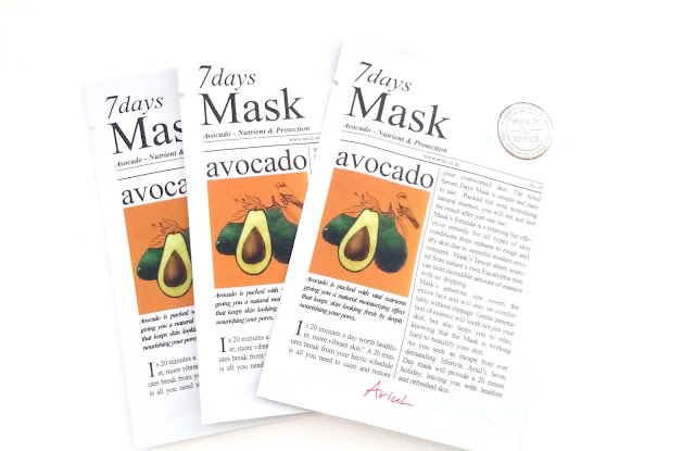 Ariul 7Days Mask - Avocado