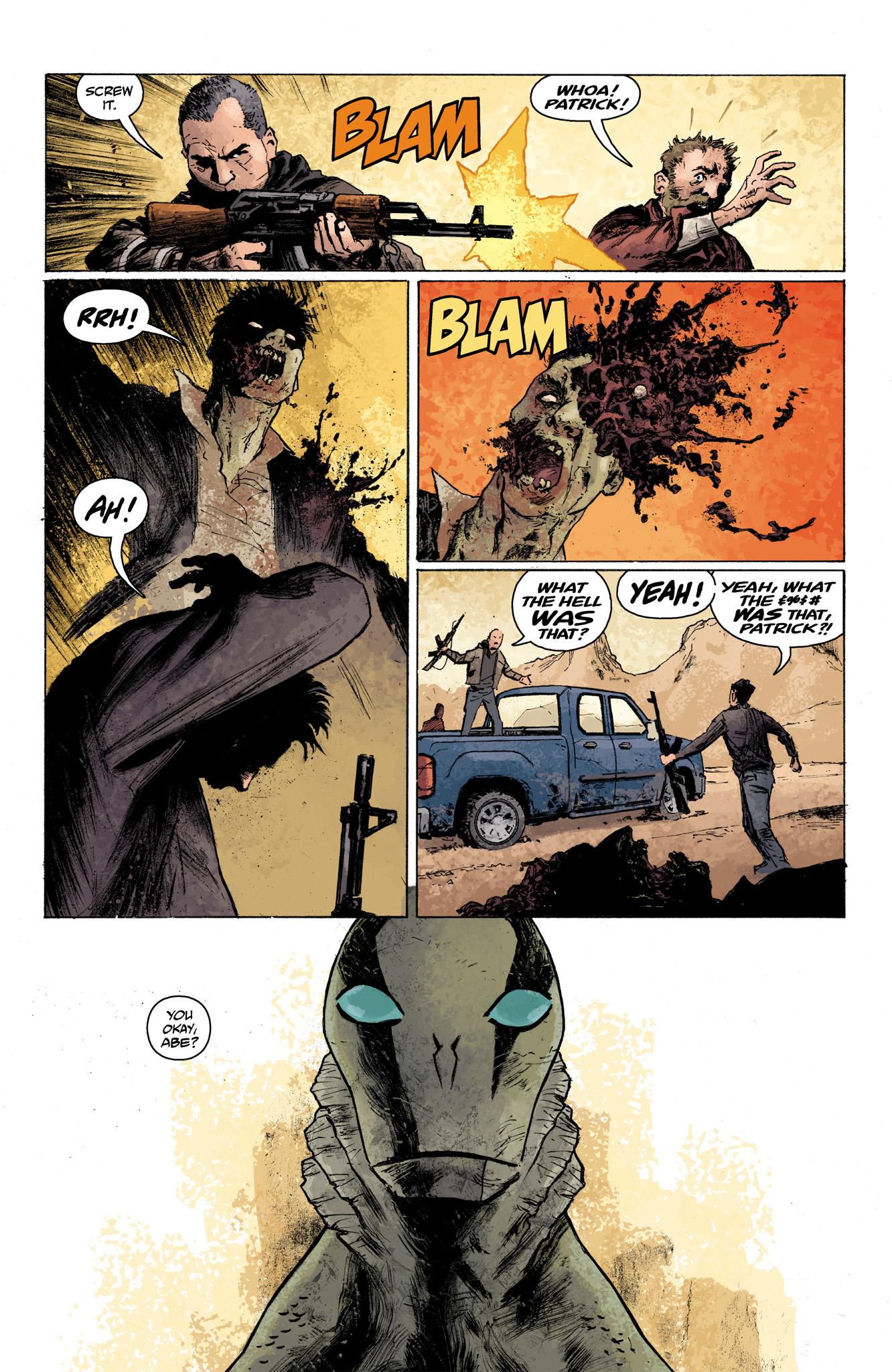 Read online Abe Sapien comic -  Issue #7 - 8