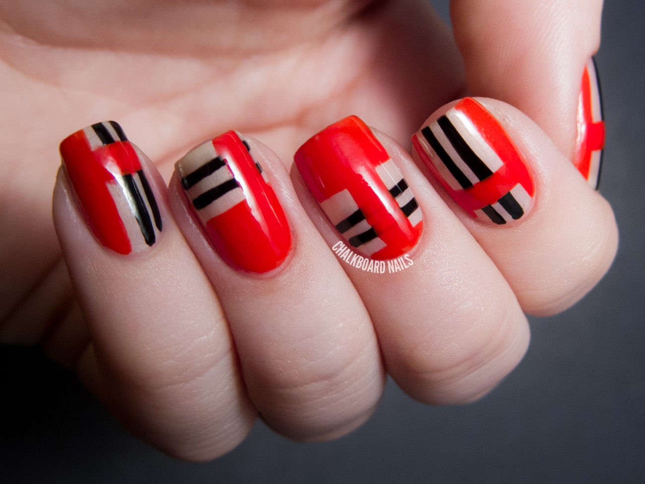 Gorgeous Red Nail Art Designs