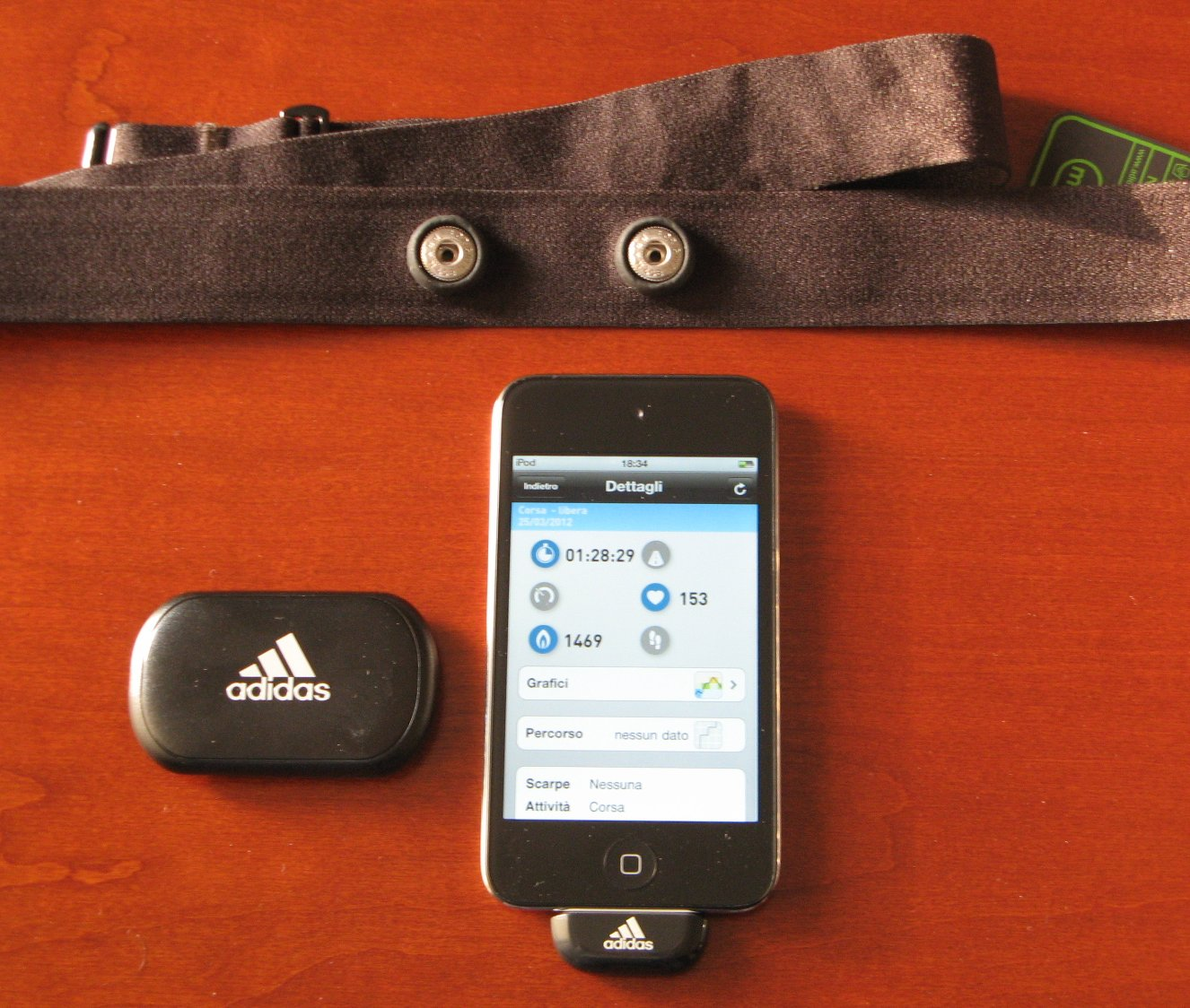 adidas miCoach Heart Rate Monitor