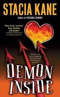 "I really liked reading about Megan, her demon boyfriend Greyson, the three demons who act as bodyguards, and Megan's demon ""helper"" Roc."