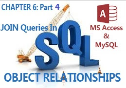 JOIN QUERIES in MS Access and MySQL databases