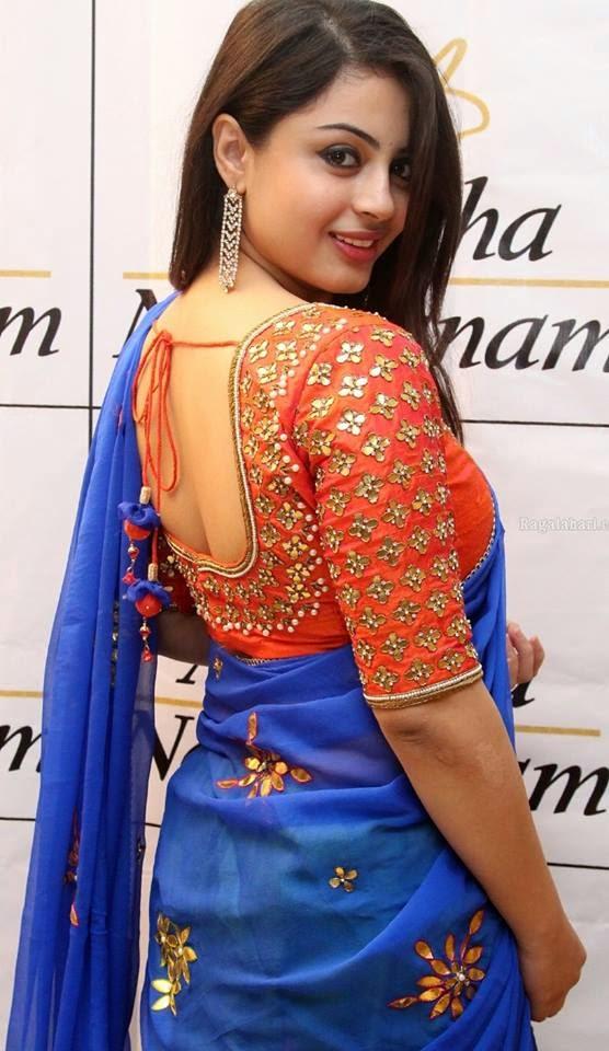 Suhani Hot In Backless Saree Blouse Photos - FILM ACTRESS ...