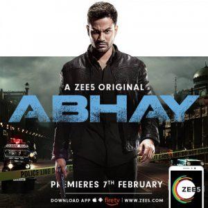 Abhay Web Series Download   abhay web series   zee5 Complete Season