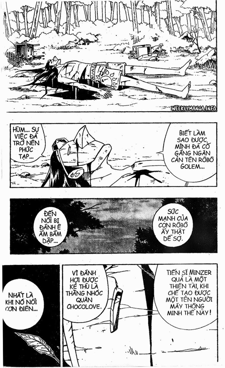 Shaman King [Vua pháp thuật] chap 191 trang 4