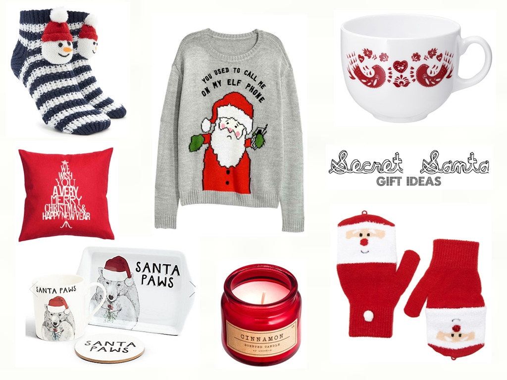 Secret Santa Gift Ideas If You Couldn T Tell Christmas Is Coming Keep An Eye Here On The Blog Because I Plan To Do Some Related Posts From Now