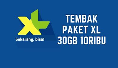 tips Mudah Tembak Paket XL 30GB 10 Ribu Terbaru 2018