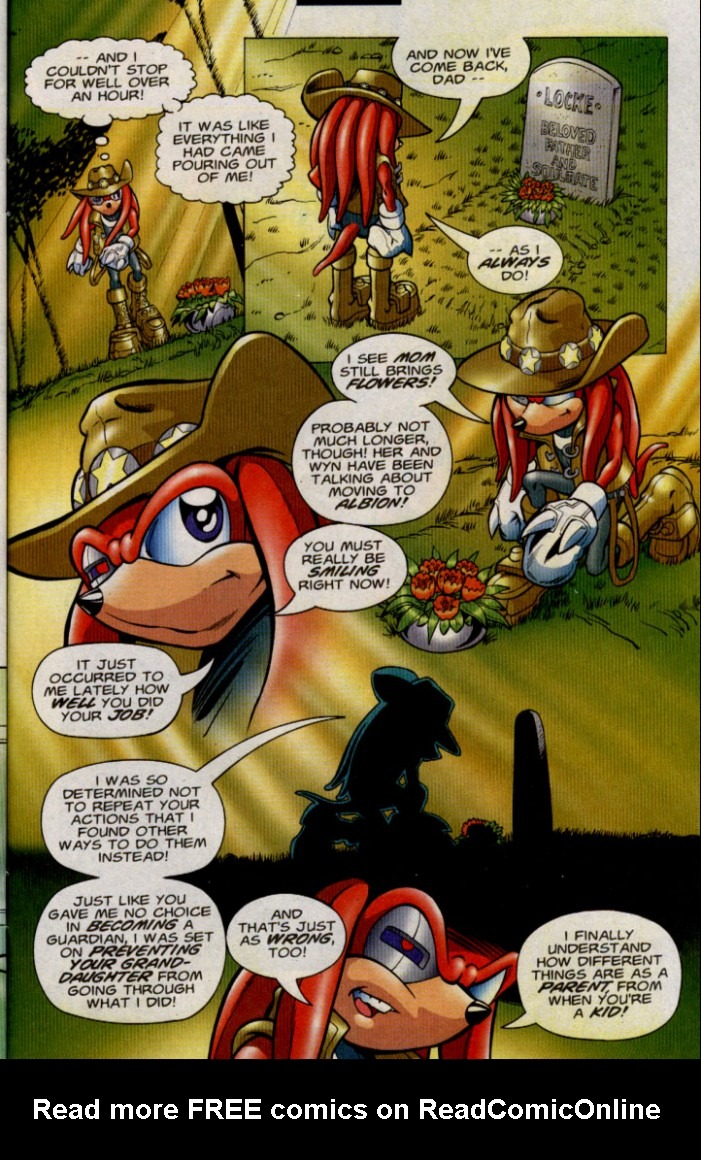 Read online Sonic The Hedgehog comic -  Issue #143 - 25