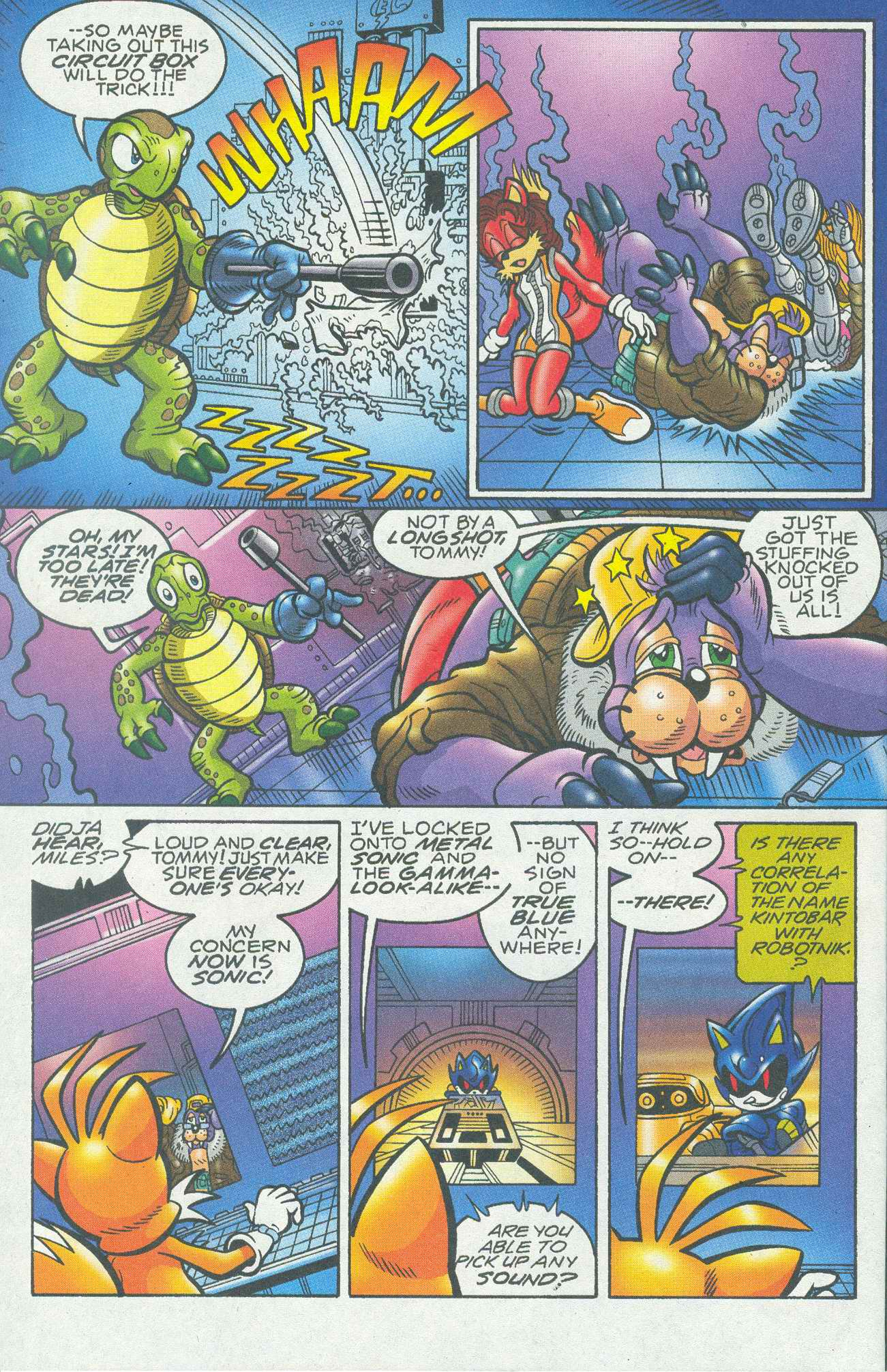Read online Sonic The Hedgehog comic -  Issue #148 - 7