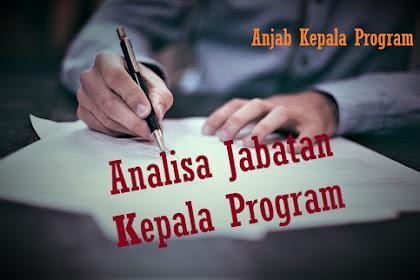 Analisis Jabatan Kepala Program Studi