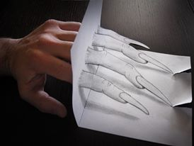 ilusi gambar tiga dimensi yang keren dan menakjubkan serta kreatif-32