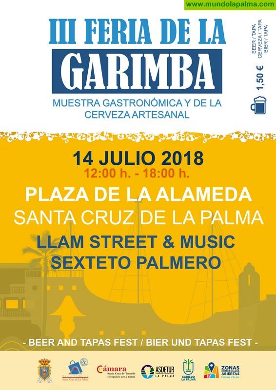 III Feria de La Garimba en La Plaza de La Alameda de Santa Cruz de La Palma