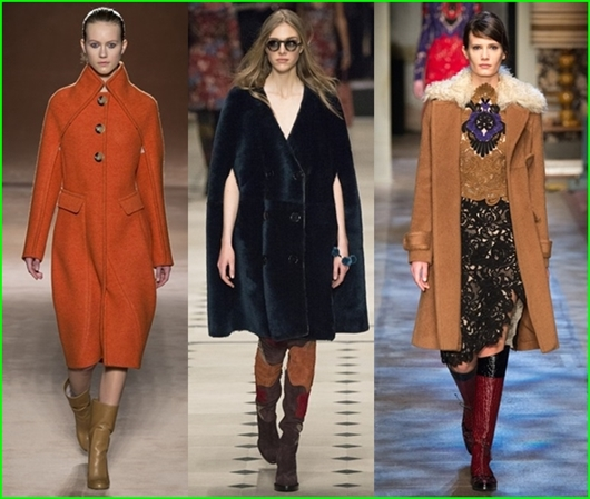 Farbentrends Herbst/Winter 2015/2016