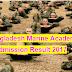 Bangladesh Marine Academy Admission Circular and Result 2017