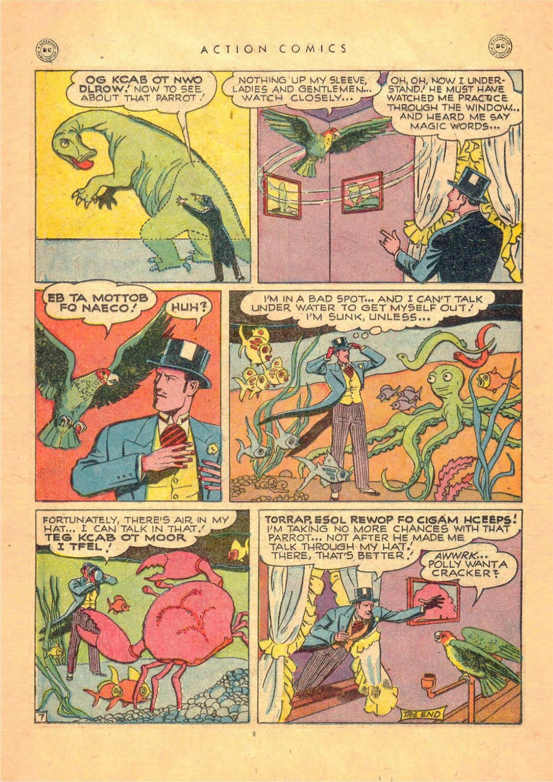 Read online Action Comics (1938) comic -  Issue #124 - 30