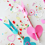 Cupids Arrow Pencil Toppers