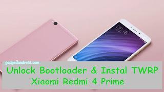 Tutorial Unlock Bootloader HP Xiaomi Redmi 4 Prime Tanpa SMS Verifikasi