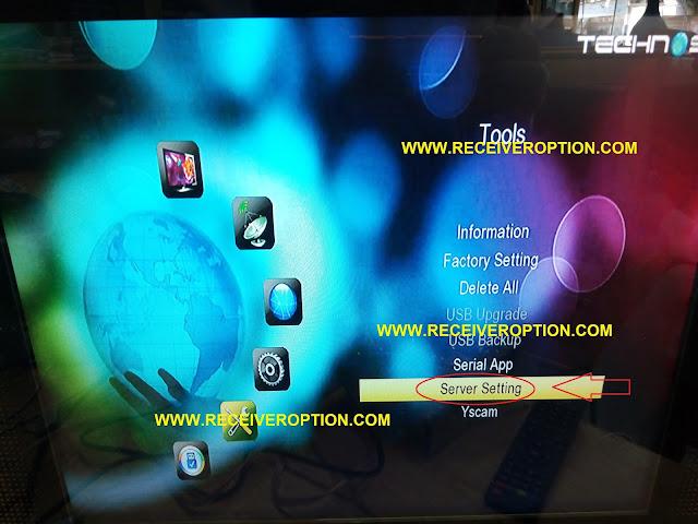 TECHNOSAT MINI TS-3 HD RECEIVER CCCAM OPTION