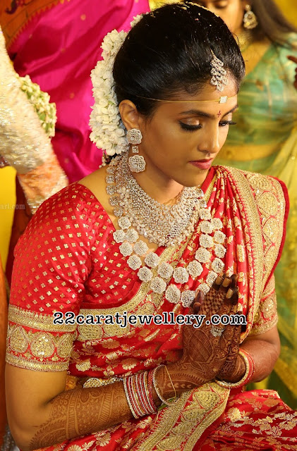Bride Harika In Diamond Jewelry