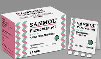 Harga Obat Sanmol Terbaru 2017 Obat Penurun Panas dan Demam