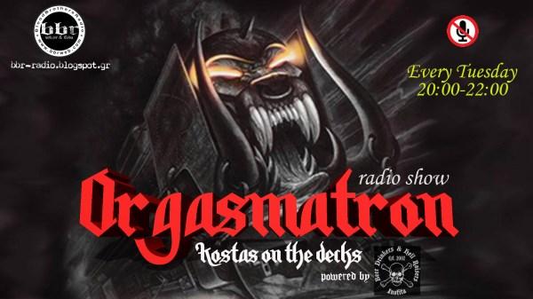 'Orgasmatron': Τρίτη 8 Μαρτίου στις 20:00! Tune in!