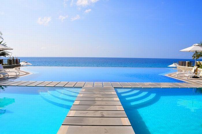Alberca o piscinas infinita