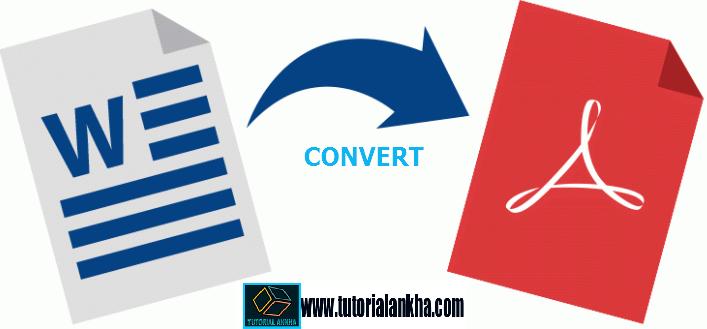 Cara mudah merubah file ms word 2007, 2010 dan 2013 menjadi file PDF (Convert word to PDF)