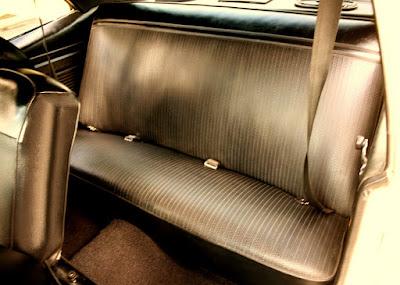 1972 Chevrolet Nova SS Sports Coupe Interior Seat
