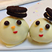 Snowman Winter Oreo Chocolate Truffles