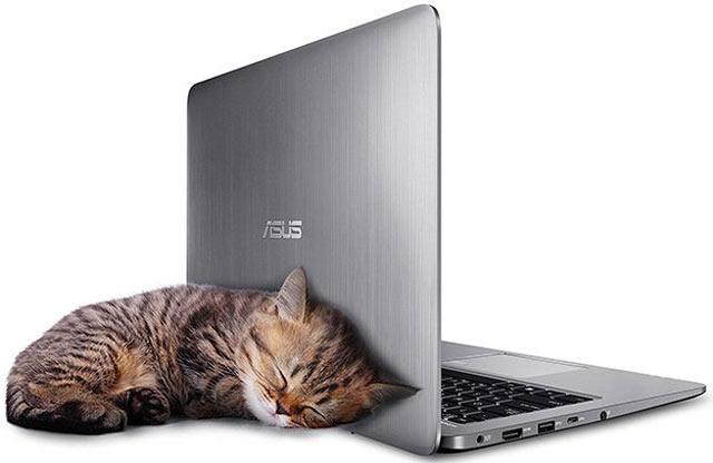 ASUS VivoBook E403NA boleh jadi laptop murah namun berkelas.  Lihat saja, perangkat yang dibandrol $399 atau setara lebih kurang Rp5,3 juta ini dibalut material alumunium, ciri khas laptop mewah dan berkelas.