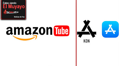 AmazonTube, Apple roba su logo, noticias, el muyayo