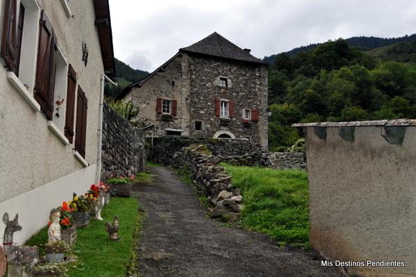 Calles de Borce (Borce, Pirineo Francés)