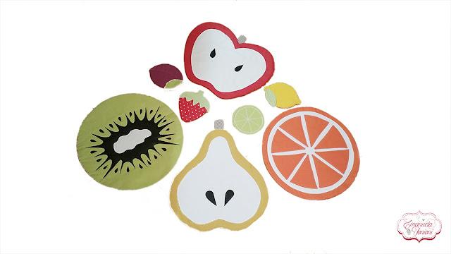 Tovagliette e Sottobicchieri Tutti Frutti