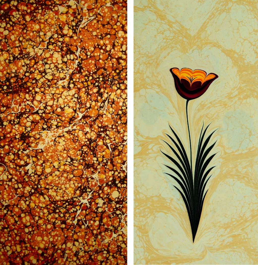 09-Garip-AY-The-Art-of-Ebru-with-Painting-on-Water-www-designstack-co