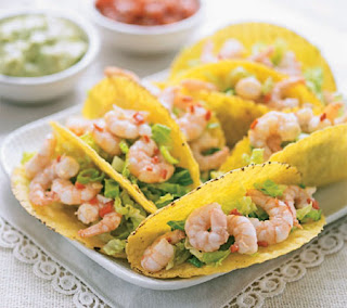 spicy prawn tacos recipe