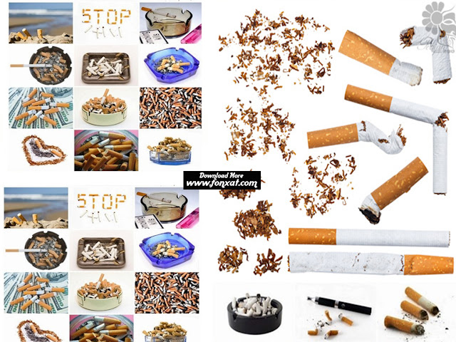 Download collection quality images cigarettes, cigarette butts and cigarette ashes - Smoking Is Bad Habit And Cigarette Butts With Ashes