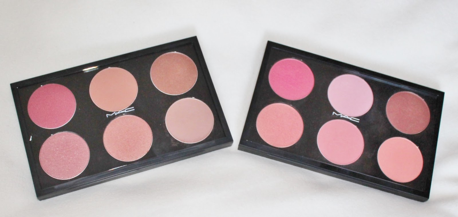 Diary Of A Makeup Geek Blog My Mac Blusher Palettes Review