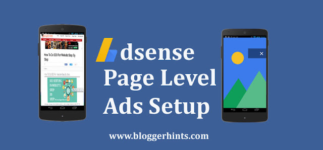 page Level Ads Adsense Setup