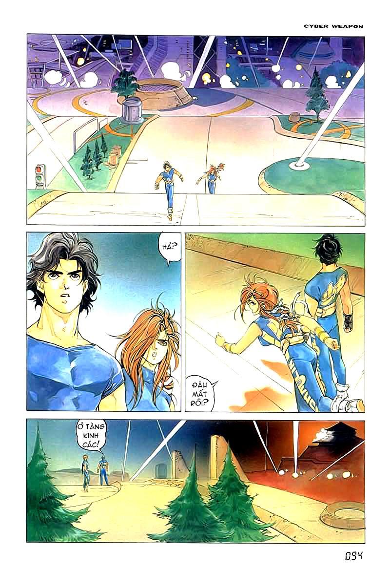 Cyber Weapon Z - Siêu Thần Z chap 2 - Trang 32