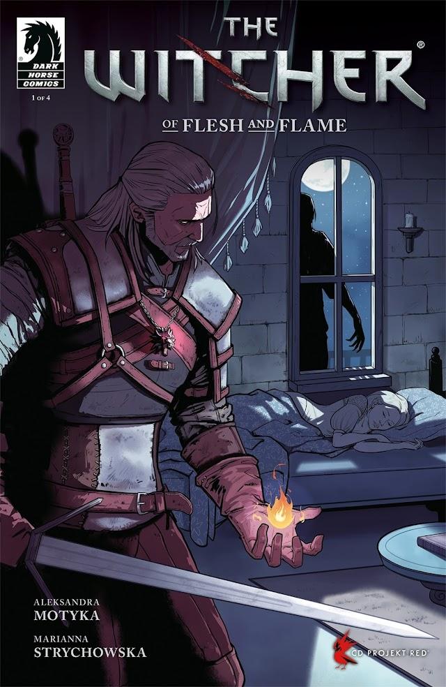 "Anunciada nueva saga de cómics de ""The Witcher"""
